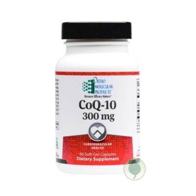 CoQ-10-300mg-Ortho-Molecular-Products